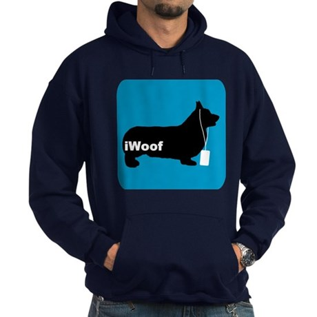 iWoof Pembroke Hoodie (dark)