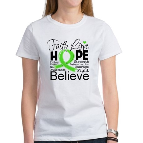 Faith Hope Lymphoma Women's T-Shirt