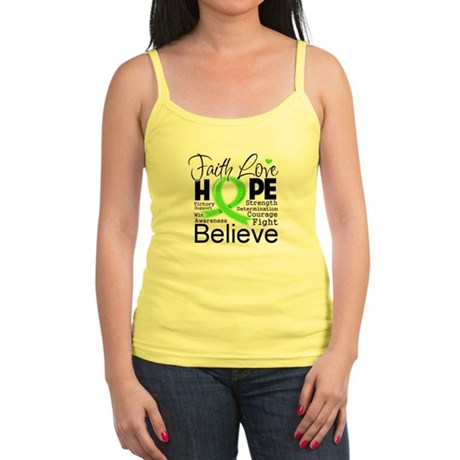 Faith Hope Lymphoma Jr. Spaghetti Tank