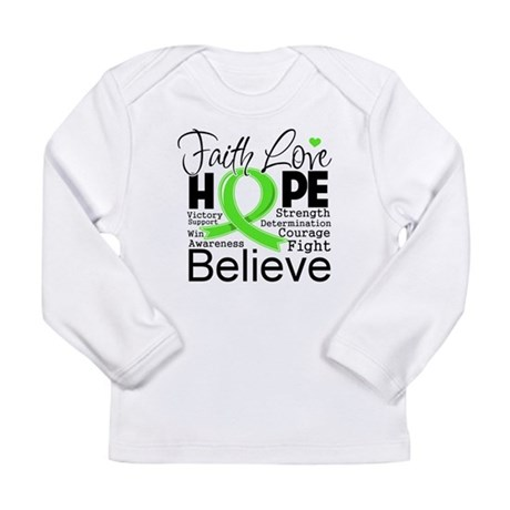 Faith Hope Lymphoma Long Sleeve Infant T-Shirt