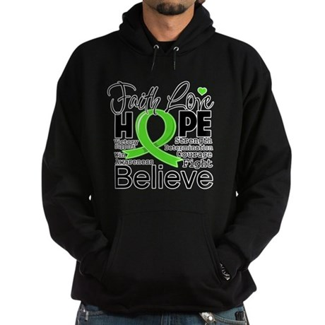 Faith Hope Lymphoma Hoodie (dark)