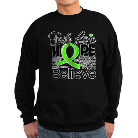 Faith Hope Lymphoma Sweatshirt (dark)