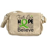 Faith Hope Lymphoma Messenger Bag