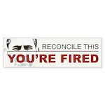 You're Fired Sticker (Bumper 50 pk)