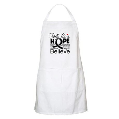 Faith Hope Melanoma Apron