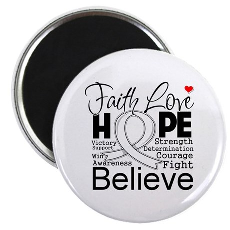 Faith Hope Mesothelioma Magnet