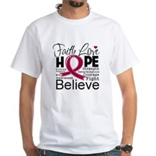 Faith Hope Multiple Myeloma Shirt