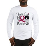 Faith Hope Multiple Myeloma Long Sleeve T-Shirt