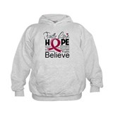 Faith Hope Multiple Myeloma Hoodie