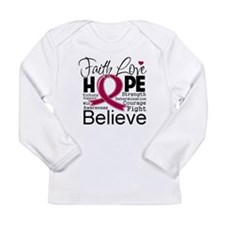 Faith Hope Multiple Myeloma Long Sleeve Infant T-S