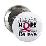 "Faith Hope Multiple Myeloma 2.25"" Button (100 pack"