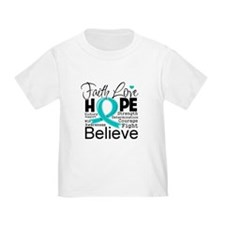 Faith Hope Ovarian Cancer T