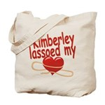 Kimberley Lassoed My Heart Tote Bag