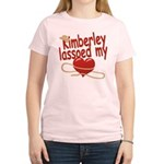 Kimberley Lassoed My Heart Women's Light T-Shirt
