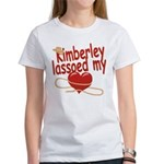 Kimberley Lassoed My Heart Women's T-Shirt