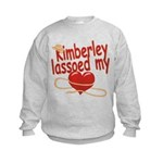 Kimberley Lassoed My Heart Kids Sweatshirt