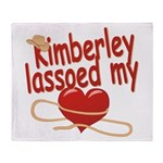 Kimberley Lassoed My Heart Throw Blanket