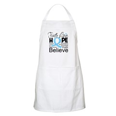 Faith Hope Prostate Cancer Apron