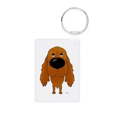 Big Nose Irish Setter Keychains