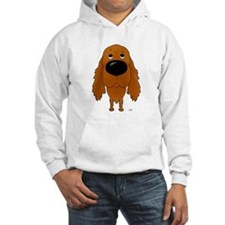 Big Nose Irish Setter Hoodie
