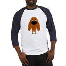 Big Nose Irish Setter Baseball Jersey