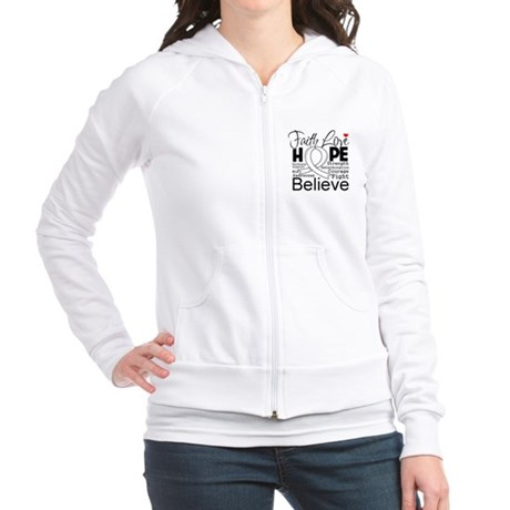 Faith Hope Retinoblastoma Jr. Hoodie