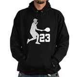 Tennis Uniform Number 23 Player Hoodie