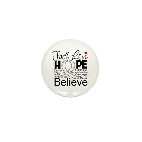 Faith Hope Retinoblastoma Mini Button (10 pack)