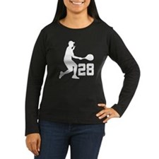 Tennis Uniform Number 28 Player T-Shirt