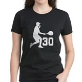Tennis Uniform Number 30 Player Tee