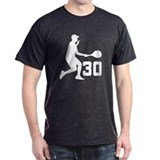 Tennis Uniform Number 30 Player T-Shirt