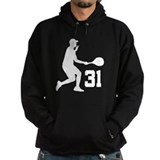 Tennis Uniform Number 31 Player Hoodie