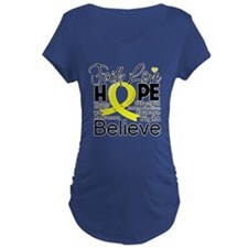 Faith Hope Sarcoma Cancer T-Shirt