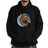 Wolverine Mascot Hoodie