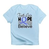 Faith Hope Stomach Cancer Infant T-Shirt