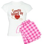 Loretta Lassoed My Heart Women's Light Pajamas