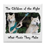 Children of the Night Tile Coaster
