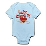 Louise Lassoed My Heart Infant Bodysuit