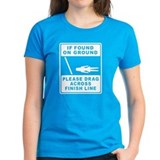 If found on ground (female runner) Tee