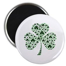 "Irish Shamrocks 2.25"" Magnet (10 pack)"