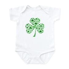 Irish Shamrocks Infant Bodysuit