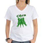 OIKRA Women's V-Neck T-Shirt