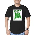 OIKRA Men's Fitted T-Shirt (dark)