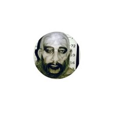"""Captain Spaulding MugShot"" Mini Button"