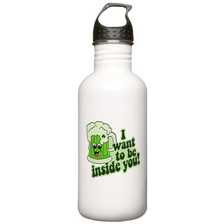 I Want To Be Inside You Stainless Water Bottle 1.0
