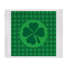 Irish Lucky 4 Leaf Clover St Patricks Stadium Bla