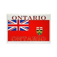 Ontario Ontarian Flag Rectangle Magnet