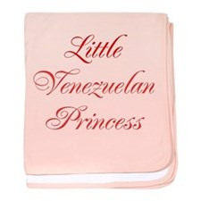 Little Venezuelan Princess baby blanket