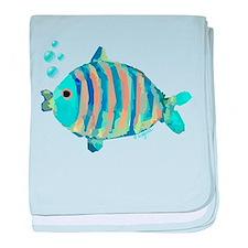 Big Fish baby blanket