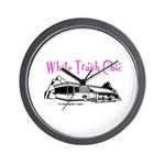 White Trash Chic Wall Clock
